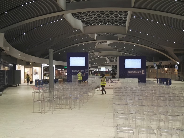 Allestimento Convention Ninetynine Fiumicino