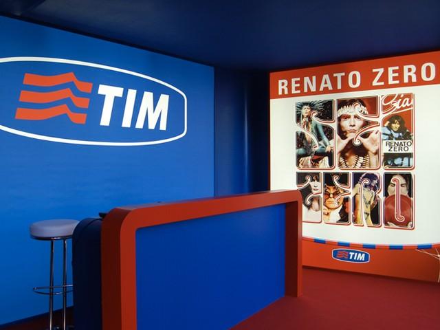 Allestimento Evento TIM Sei Zero Roma thumb