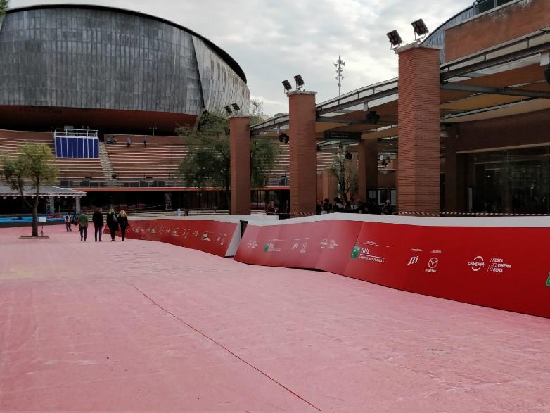 festa del cinema di roma red carpet auditorium