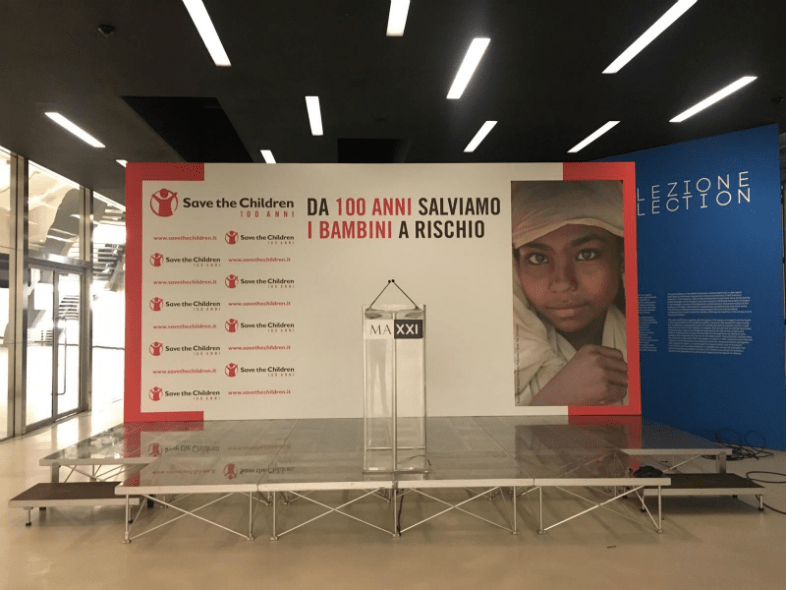 Tecnoconference 100 anni di Save the Children