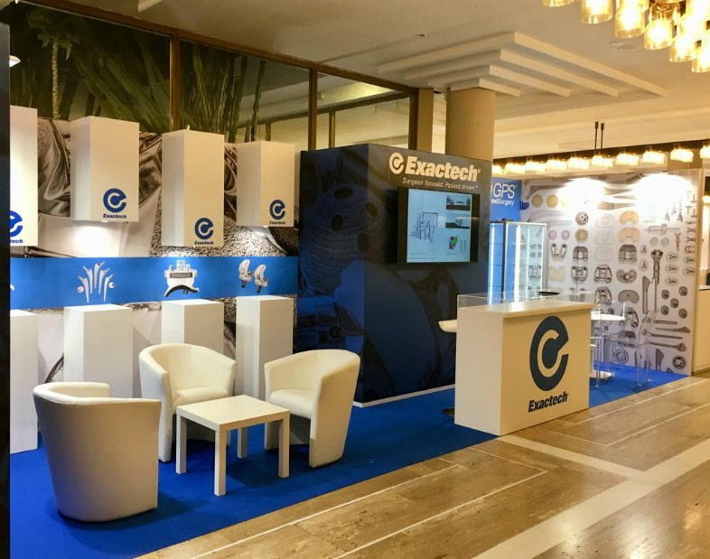 Stand Exactech congresso Siot